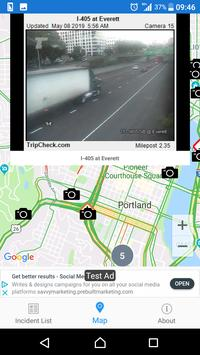 Oregon Roads - Traffic and Cameras poster
