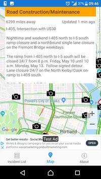 Oregon Roads - Traffic and Cameras screenshot 1