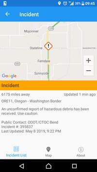 Oregon Roads - Traffic and Cameras screenshot 2