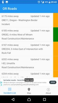 Oregon Roads - Traffic and Cameras screenshot 5
