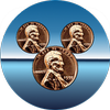 Pressed Coins at Disneyland-icoon