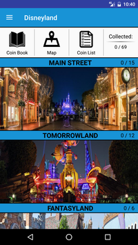 Pressed Coins at Disneyland screenshot 1
