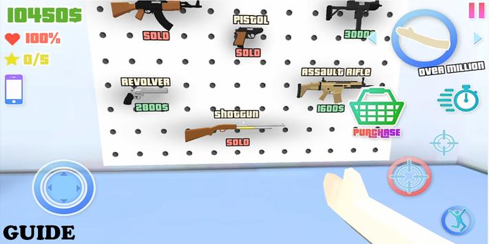 guide for Dude Theft Wars game screenshot 1