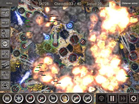 Defense Zone 3 HD captura de pantalla 11