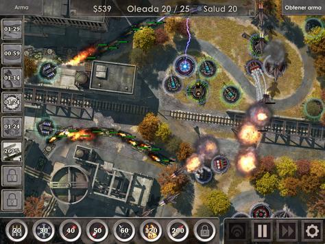 Defense Zone 3 HD captura de pantalla 12