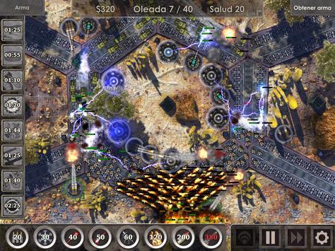 Defense Zone 3 HD captura de pantalla 17