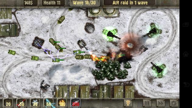 Defense Zone HD imagem de tela 9