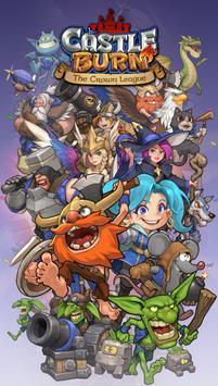 Castle Burn - RTS Revolution poster