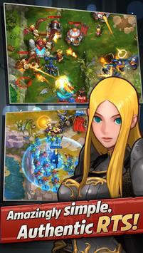 Castle Burn - RTS Revolution screenshot 1