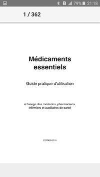 Médicament Essentiel Guide Pratique Poster