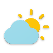 Simple weather & clock widget (no ads) icon