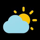 심플한 날씨 & 시계 위젯 아이콘