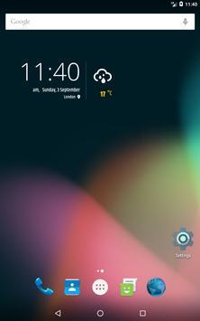 Simple weather & clock widget (no ads) screenshot 17