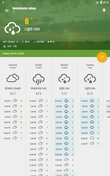 Simple weather & clock widget (no ads) screenshot 19