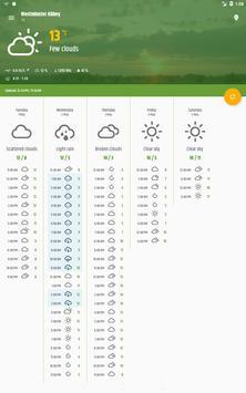 Simple weather & clock widget (no ads) screenshot 13