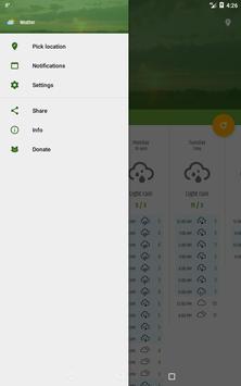 Simple weather & clock widget (no ads) screenshot 20