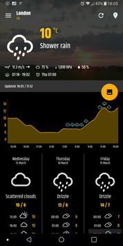 Simple weather & clock widget (no ads) screenshot 7