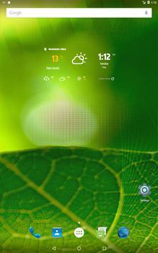 심플한 날씨 & 시계 위젯 스크린샷 16