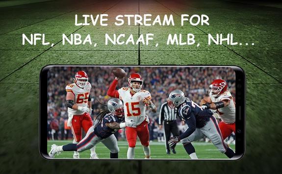 Dofu Live Stream for NFL NBA NCAAF MLB NHL poster