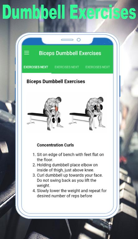 Dumbbell Exercises Free for Android - APK Download