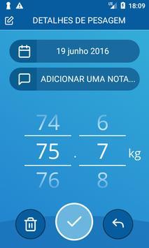 Diário de peso, IMC imagem de tela 2