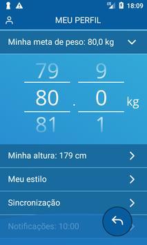 Diário de peso, IMC imagem de tela 5