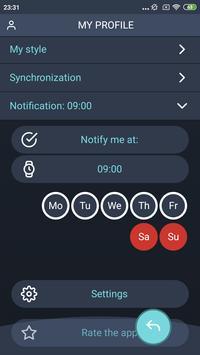 Handy Weight Loss Tracker, BMI screenshot 3