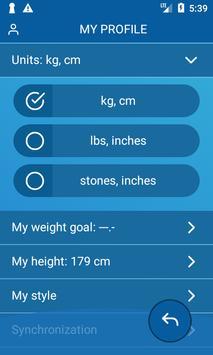 Handy Weight Loss Tracker, BMI screenshot 5