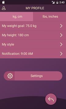 Handy Weight Loss Tracker, BMI screenshot 6