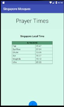 Mosque & Prayer Room Singapore screenshot 4