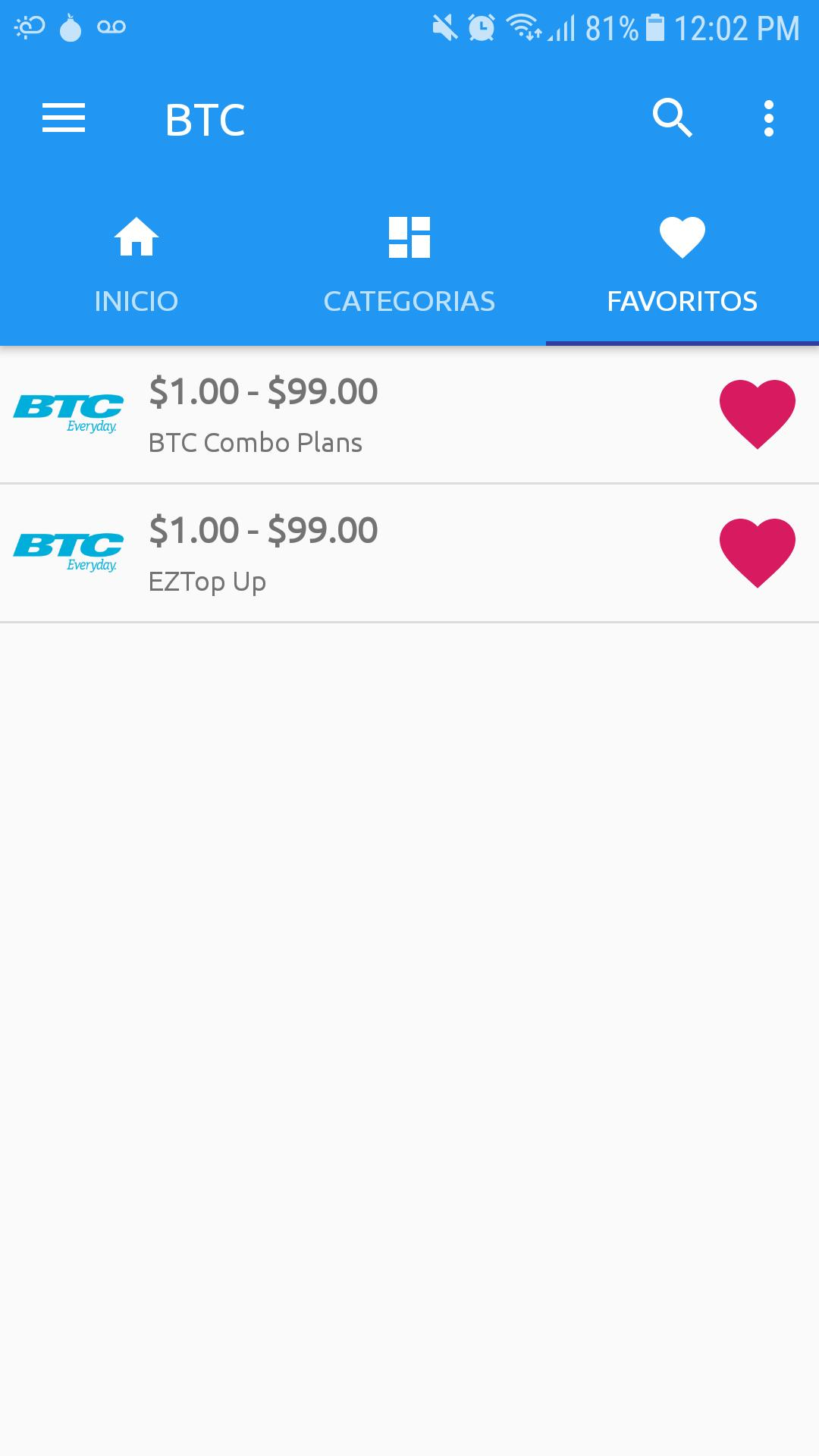 BTC Top Up App - Quick Home for Android - APK Download
