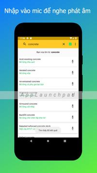 Từ điển tiếng anh chuyên ngành xây dựng screenshot 1