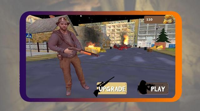 Zombie Sniper Shooter screenshot 1