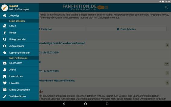 FanFiktion.de screenshot 8