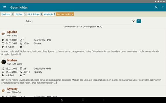 FanFiktion.de screenshot 9