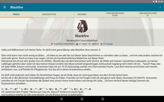 FanFiktion.de screenshot 13