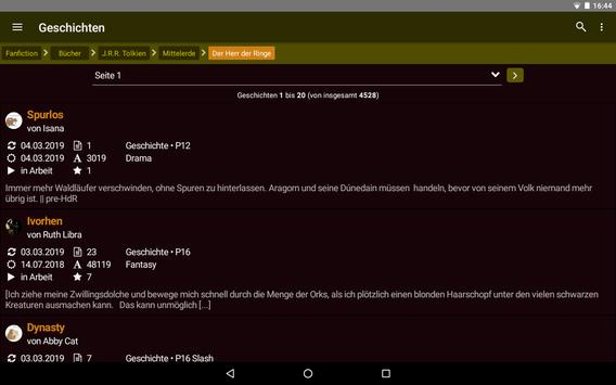 FanFiktion.de screenshot 10