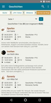 FanFiktion.de screenshot 2