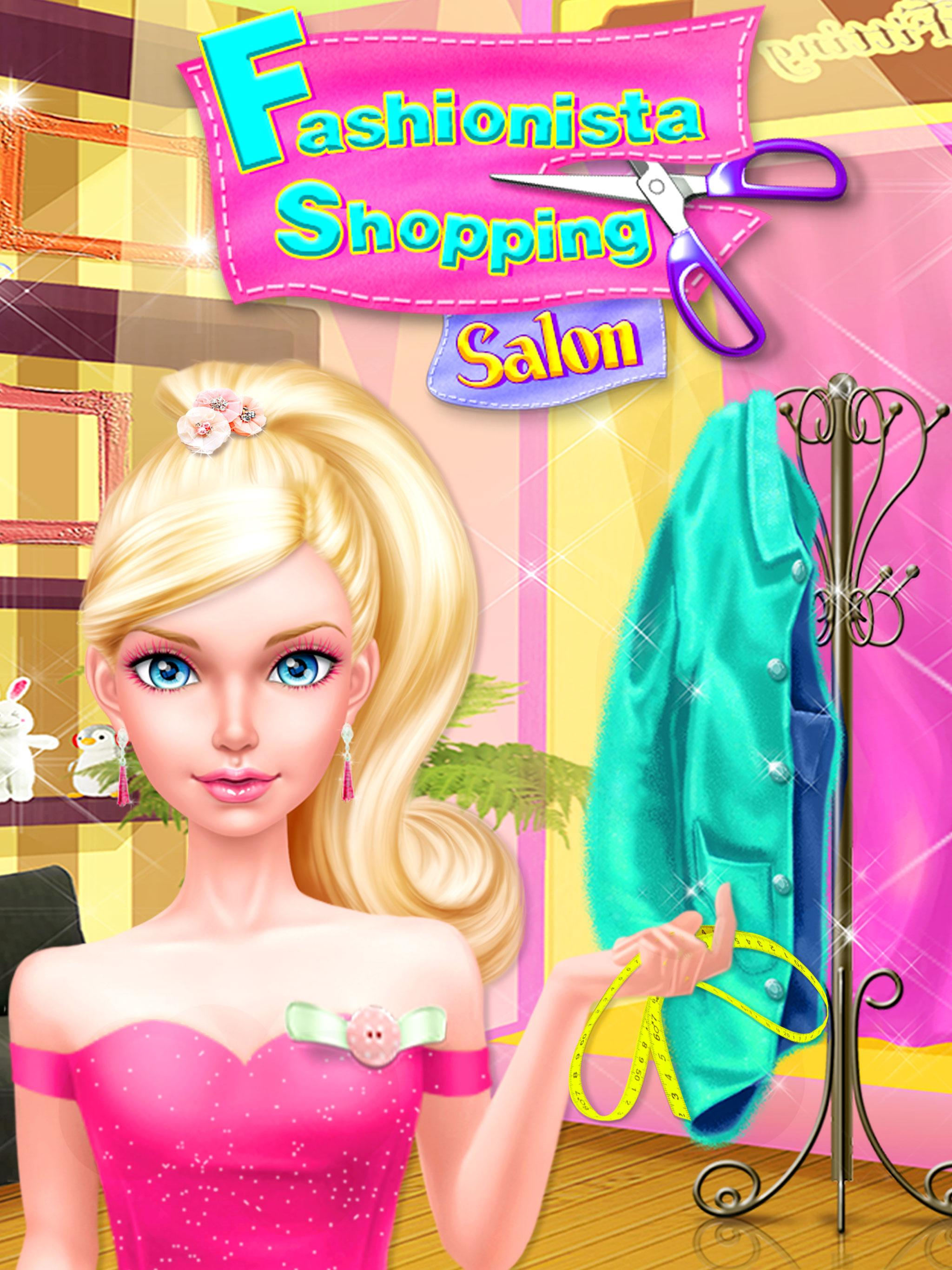 Fashion Doll Shopping Day Spa Dress Up Games Pour Android Telechargez L Apk
