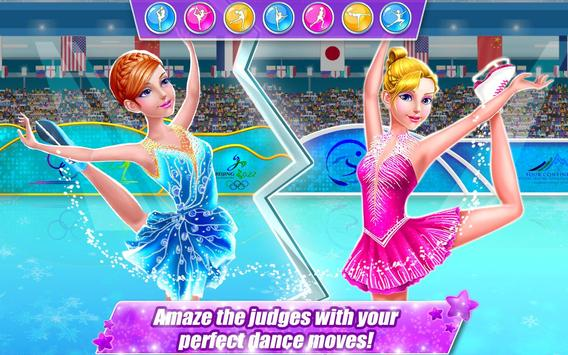 Ice Skating Superstar - Perfect 10  ❤ Dance Games poster