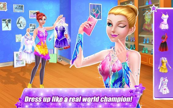 Ice Skating Superstar - Perfect 10  ❤ Dance Games screenshot 1