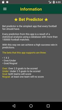 Bet Predictor screenshot 5