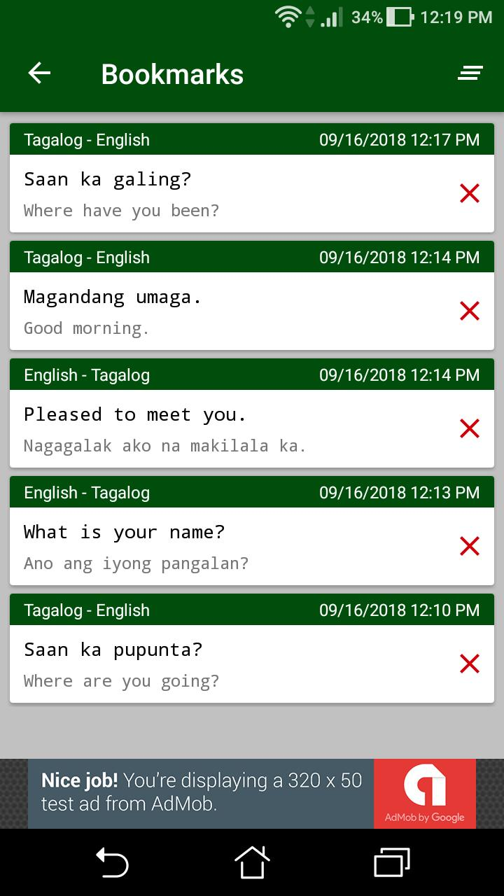 Filipino English Translator For Android Apk Download