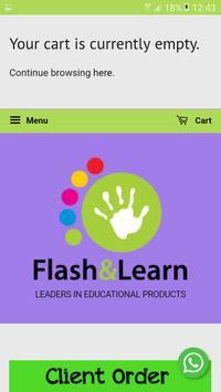 Flash & Learn screenshot 1