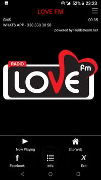 LOVE FM screenshot 1