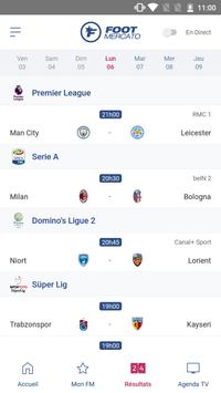 Foot Mercato : transferts, résultats, news, live Screenshot 2