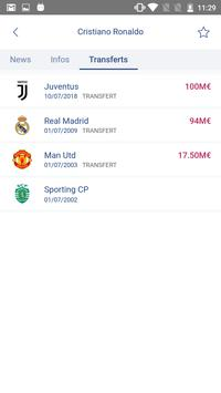 Foot Mercato : transferts, résultats, news, live Screenshot 7