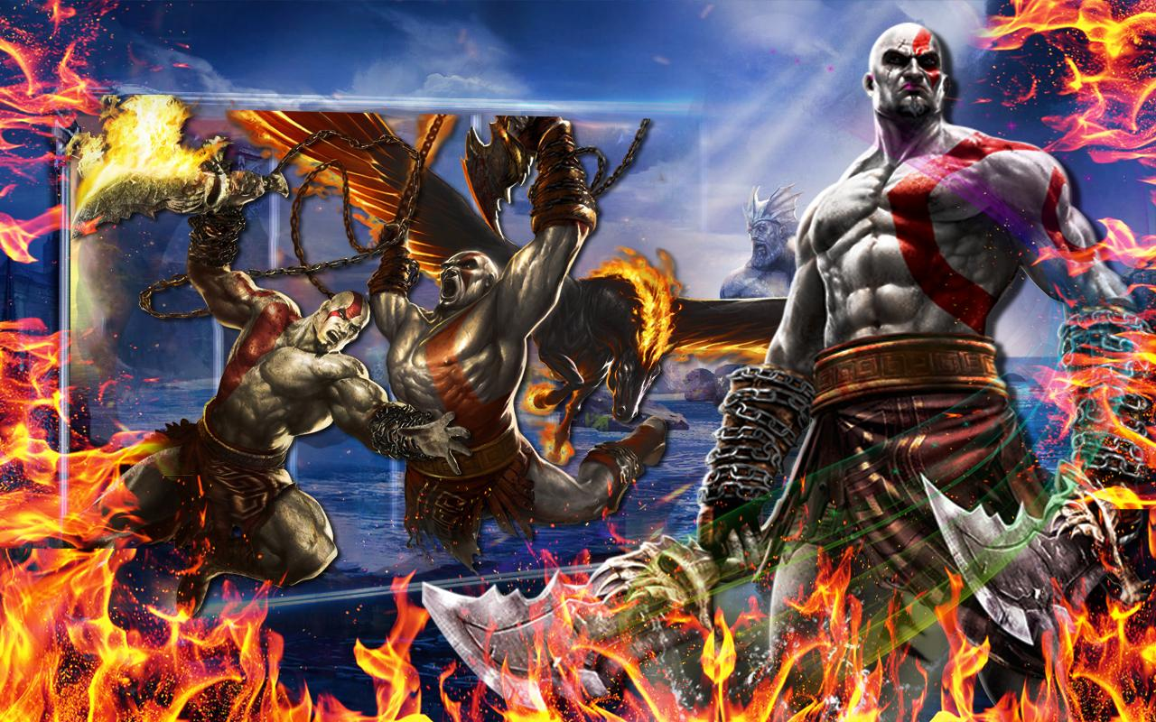 Kratos God of war for Android - APK Download
