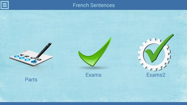 أكثر الجمل الفرنسية شيوعاً screenshot 1