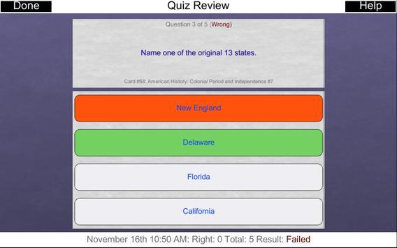 Free US Citizenship Test 2019 screenshot 13